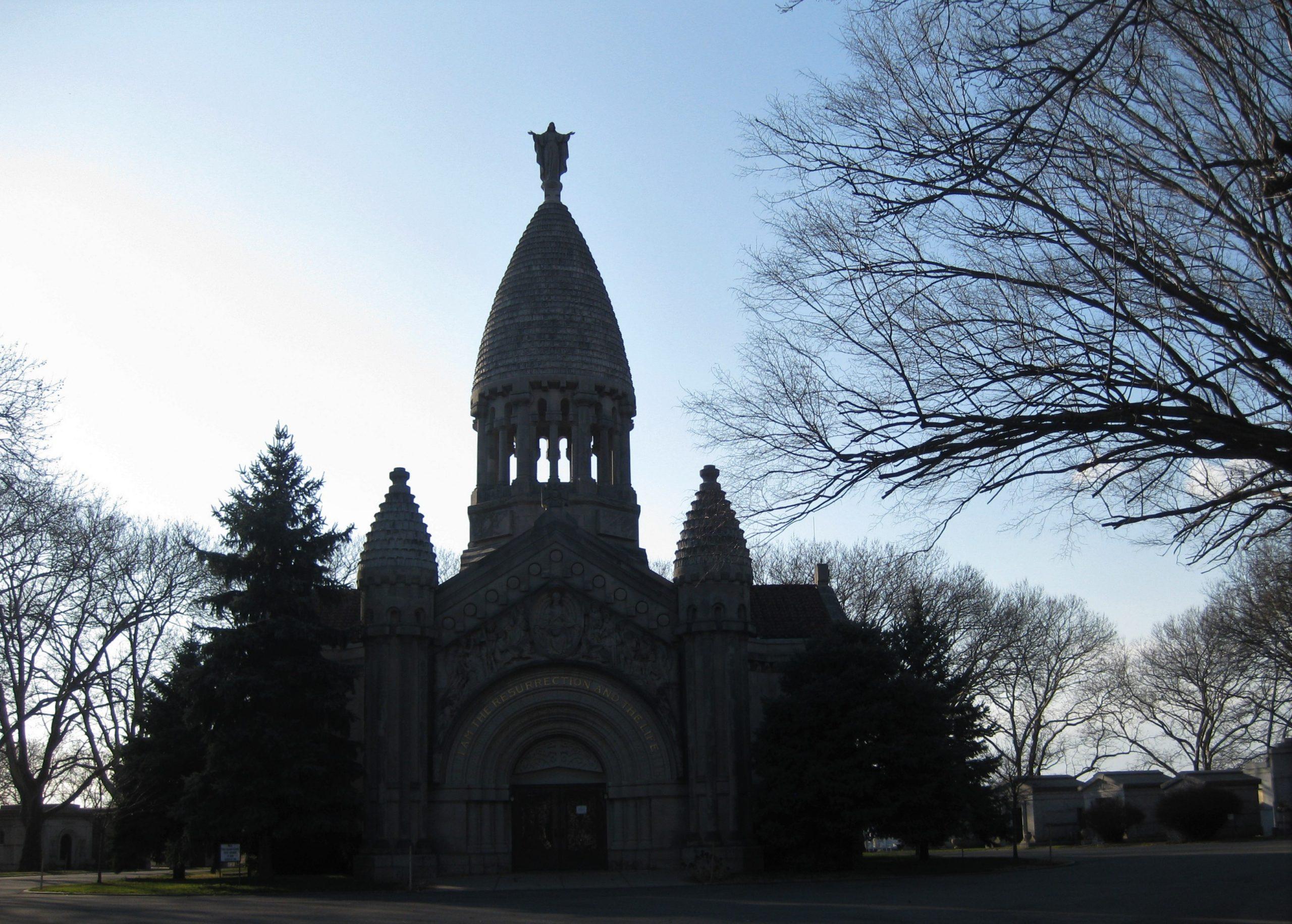 Peregrine: The Ceremony of Powers, Calvary Cemetery